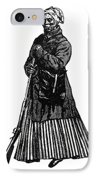 Harriet Tubman (c1823-1913) Phone Case by Granger