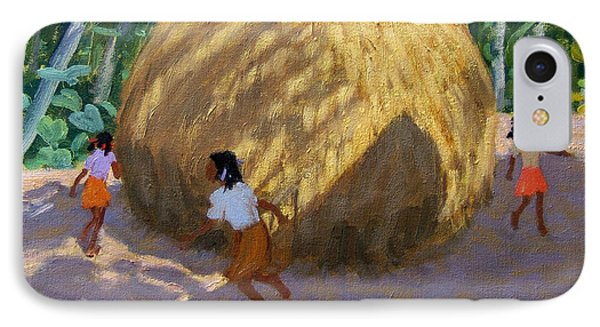 Haystack Phone Case by Andrew Macara