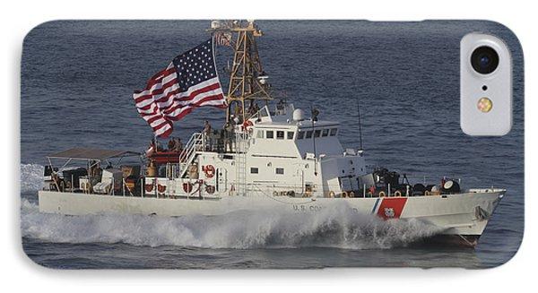 He U.s. Coast Guard Cutter Adak Phone Case by Stocktrek Images