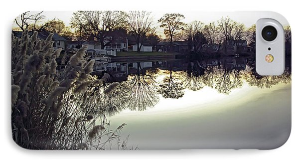 Hearns Pond Reflection IPhone Case by Brian Wallace