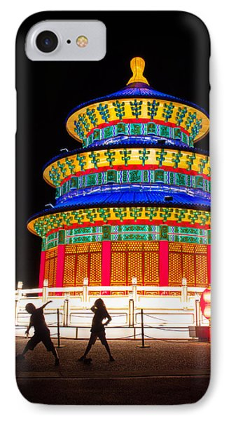 Heavenly Temple Phone Case by Semmick Photo