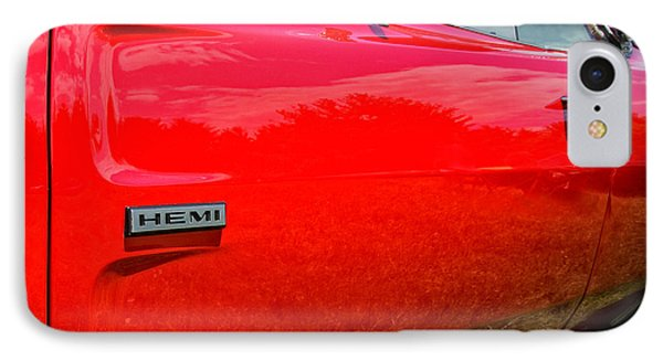Hemi Charger Phone Case by Thomas Schoeller