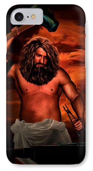 Hephaestus IPhone Case by Lourry Legarde