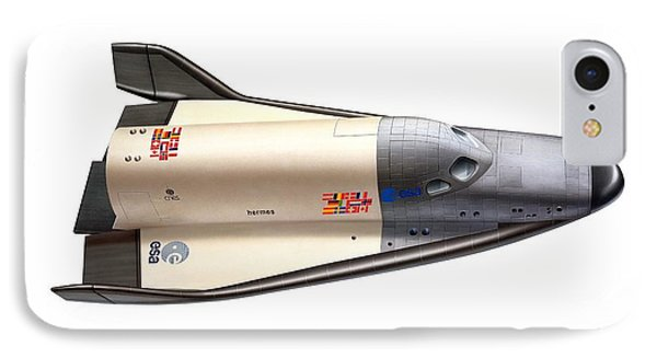 Hermes Space Shuttle, Artwork IPhone Case by David Ducros