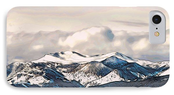 High Sierra Mountains Phone Case by Phyllis Kaltenbach