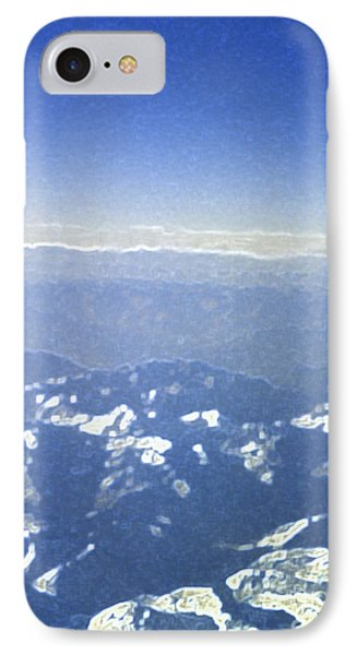 Himalayas Blue Phone Case by First Star Art