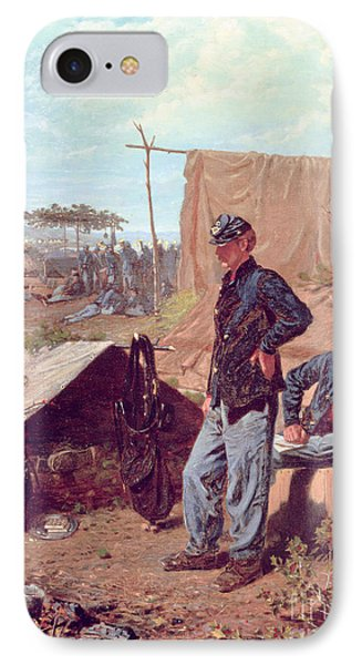 Home Sweet Home Phone Case by Winslow Homer