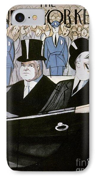 Hoover & F.d. Roosevelt IPhone Case by Granger