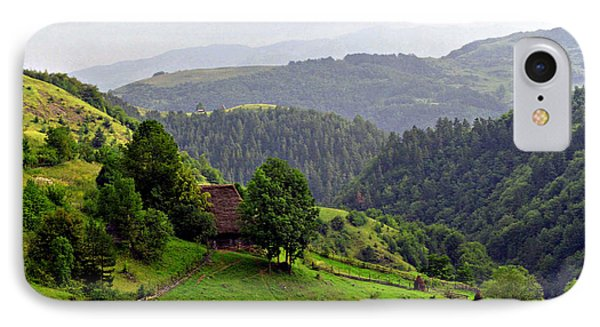 House In The Apuseni Mountains Phone Case by Emanuel Tanjala