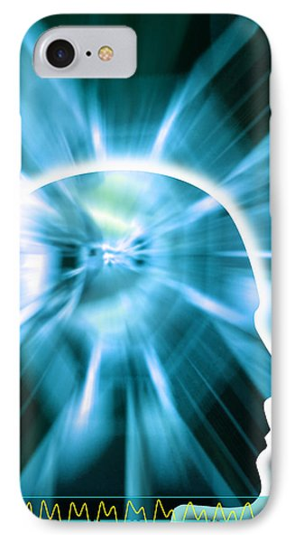 Human Consciousness IPhone Case by Pasieka