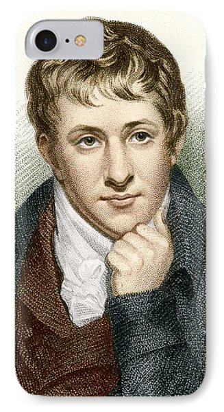 Humphry Davy, English Chemist Phone Case by Sheila Terry