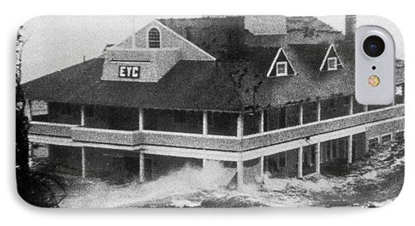 Hurricane Carol Phone Case by Science Source