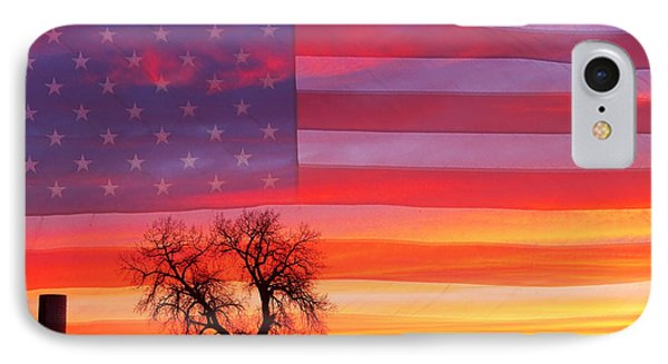 I Am Thankful To Be An American Phone Case by James BO  Insogna