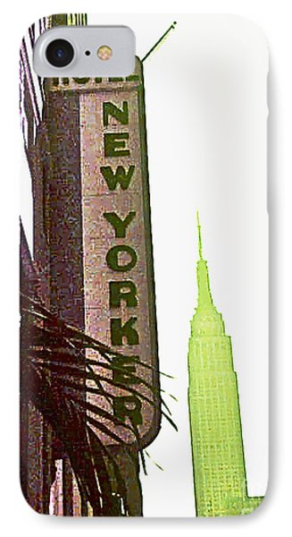 I Love New York Phone Case by Beth Saffer