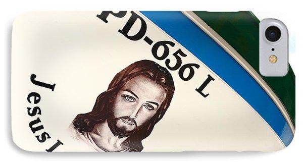 Image Of Jesus Phone Case by Gaspar Avila