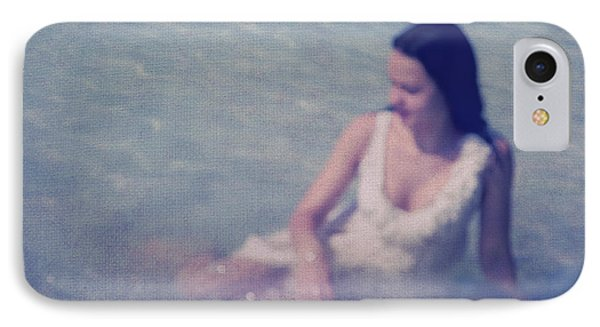 In Blue. Impressionism Phone Case by Jenny Rainbow