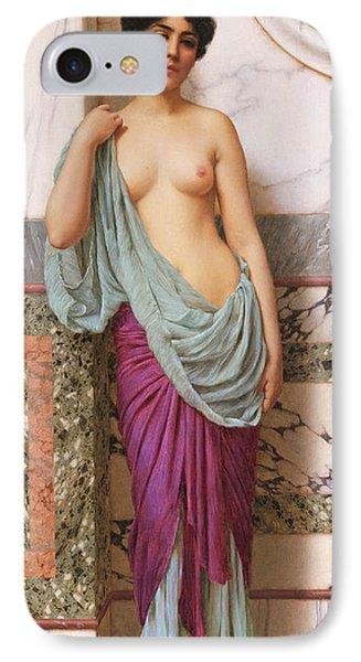 In The Tepidarium IPhone Case by John William Godward
