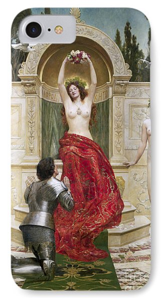 In The Venusburg IPhone Case by John Collier