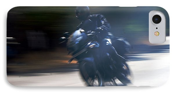 Indian Rider Leans Phone Case by Kantilal Patel
