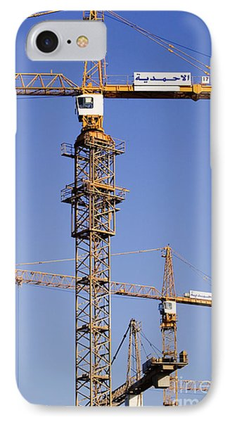 Industrial Cranes Phone Case by Jeremy Woodhouse