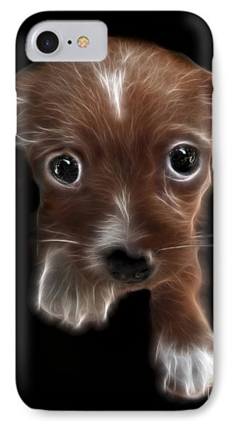 Innocent Loving Eyes Phone Case by Peter Piatt