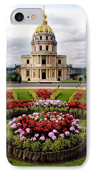 Invalides Paris France Phone Case by Dave Mills