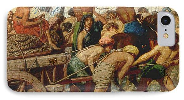 Israel In Egypt IPhone Case by Sir Edward John Poynter