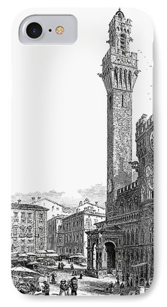 Italy: Siena, 19th Century Phone Case by Granger