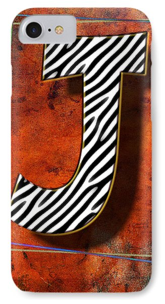 J Phone Case by Mauro Celotti
