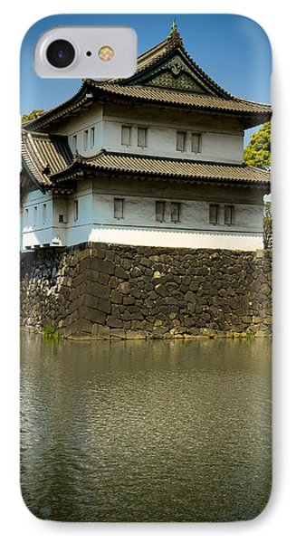 Japan Castle IPhone Case by Sebastian Musial