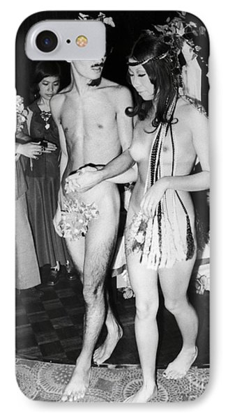 Japan: Nude Wedding, 1970 Phone Case by Granger