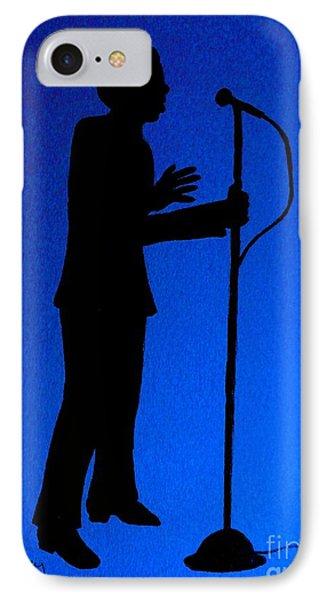 Jazz Singer Phone Case by Julie Brugh Riffey