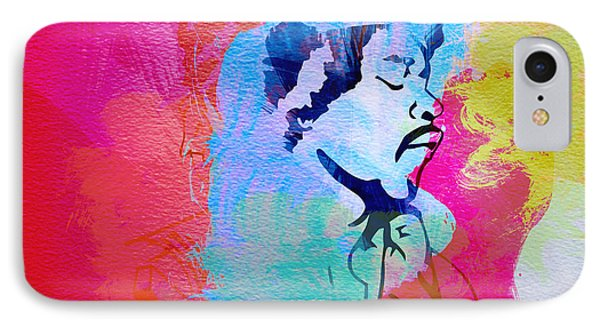 Jimmy Hendrix Phone Case by Naxart Studio