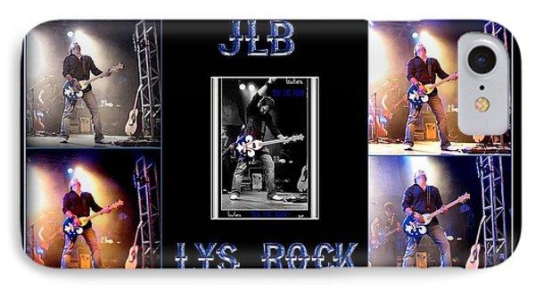 Jlb Lys Rock Poster IPhone Case by Danielle  Parent