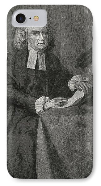 John Winthrop, Us Astronomer Phone Case by Science, Industry & Business Librarynew York Public Library