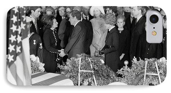 Johnson Funeral, 1973 Phone Case by Granger