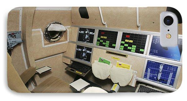 Kliper Spacecraft Interior IPhone Case by Ria Novosti