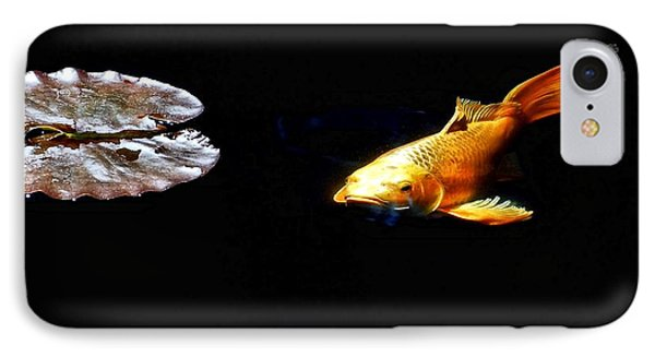 Koi And Lillies IPhone Case by Don Mann