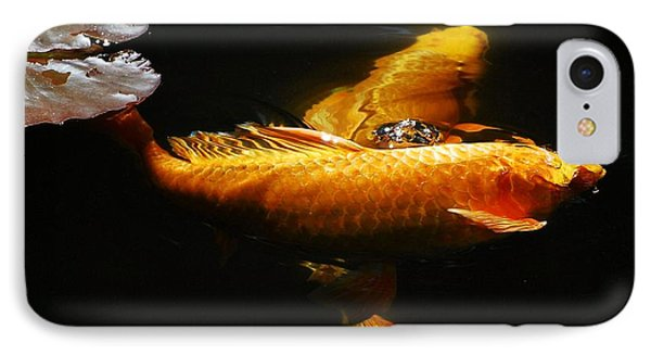 Koi Crossing Phone Case by Don Mann