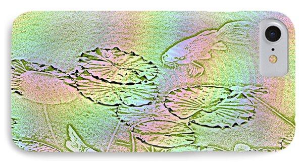 Koi Rainbow Phone Case by Tim Allen