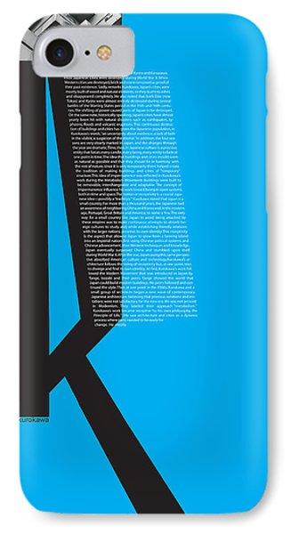 Kurosawa Poster IPhone Case by Naxart Studio