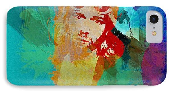 Kurt Cobain Phone Case by Naxart Studio