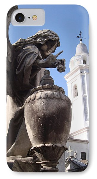 La Recoleta Church IPhone Case by David Rucker
