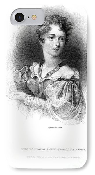 Lady Caroline Lamb Phone Case by Granger