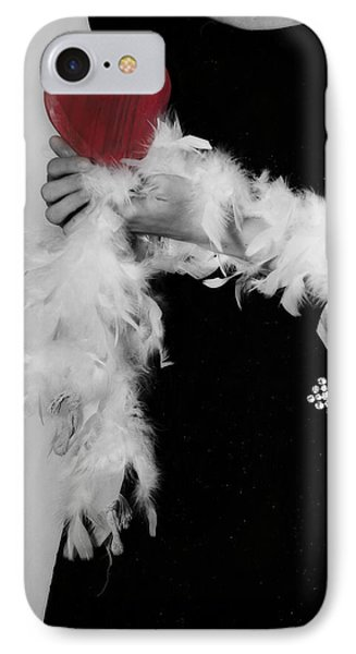 Lady With Heart IPhone 7 Case by Joana Kruse