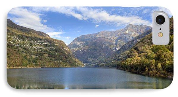 Lago Di Vogorno Phone Case by Joana Kruse