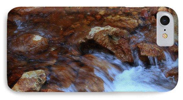 Lake Shasta Waterfall  Phone Case by Garnett  Jaeger