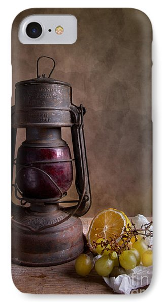 Lamp And Fruits IPhone Case by Nailia Schwarz