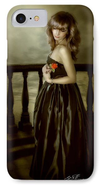 Last Red Rose Phone Case by Svetlana Sewell
