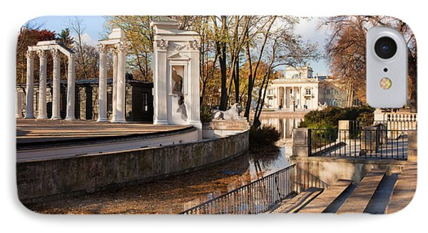 Lazienki Park In Warsaw Phone Case by Artur Bogacki
